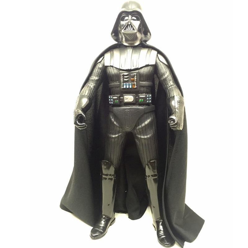 36CM Star Wars StromTrooper Darth Vader Force Awakens Black Warrior Luke Skywalker PVC Action Figure Collectible Model Toy L506