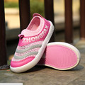 New 2016 Hot Sale Breathable Soft Children Shoes Slip-On Kids Sneakers for Unisex for Summer #1983