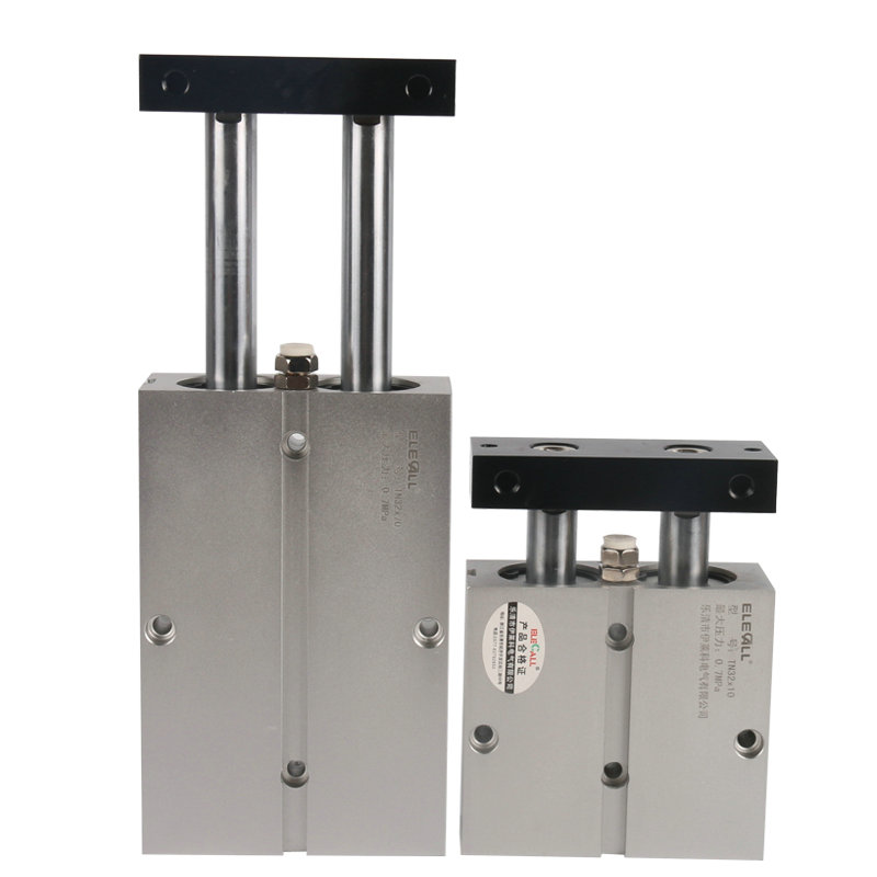TN32*10 / 32mm Bore 10mm Stroke Compact Double Acting Pneumatic Air Cylinder high quality double acting pneumatic gripper mhy2 25d smc type 180 degree angular style air cylinder aluminium clamps