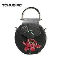 TOMUBIRD 2018 new Cowhide women genuine leather bag cowhide embossing Flower schoudertas dames women genuine leather bags