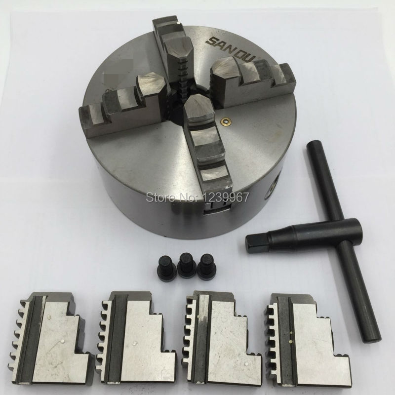 80mm 4Jaw Independent Lathe Chuck K12 80 G 3 Self centering Chuck for CNC Lathe Drilling