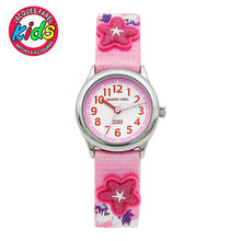 JACQUES FAREL Kids Children watches fashion cute simple waterproof Quartz Wristwatches fly red clock