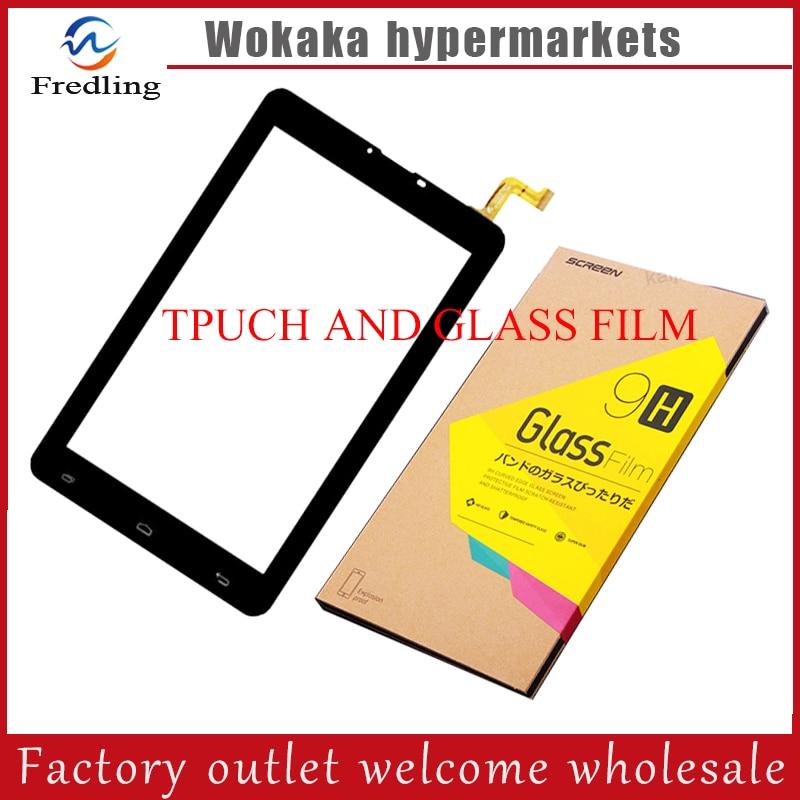 GLASS FILM+ 7 MEGAFON LOGIN 4 LTE (MFLogin4) Login 4g+ tablet pc HK70DR2671-V02 capacitive touch screen glass digitizer panel 4 13inch for nokia n800 tablet pc capacitive touch screen glass digitizer panel