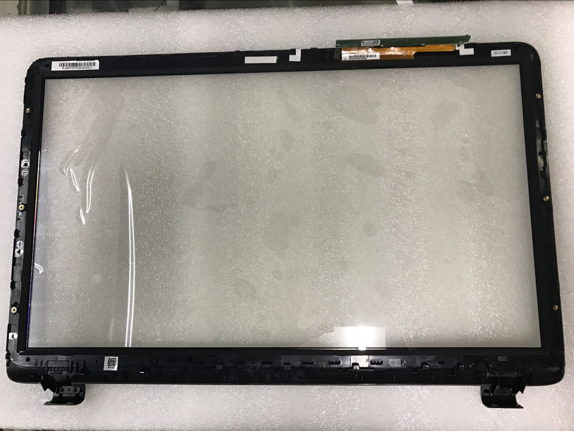 17.3 Touch Screen Digitizer Panel For HP Pavilion Notebook 17-F T173AWC-N10 with bezel 574680 001 1gb system board fit hp pavilion dv7 3089nr dv7 3000 series notebook pc motherboard 100% working