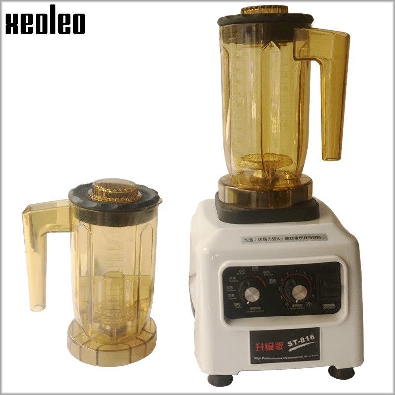 Xeoleo Commercial théières Machine multifonction alimentaire mélangeur 1.2L Shaker lait bouchon Smoothie fabricant bulle thé Machine alimentaire mélangeur