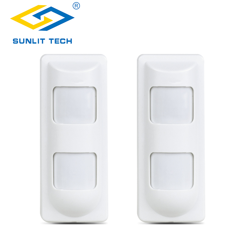 Sunlit Tech IP65 Waterproof Wired Microwave Dual PIR Motion Detector Sensor Anti Masking for House Office Security Safety Alarm цены онлайн