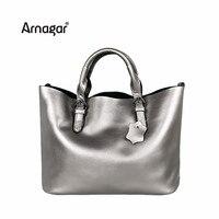 Arnagar Genuine Leather Bag Luxury Handbags Women Bags Designer High Quality Women Messenger Bag Large Shoulder