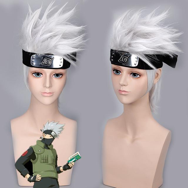 Naruto Hatake Kakashi Peluca Cosplay