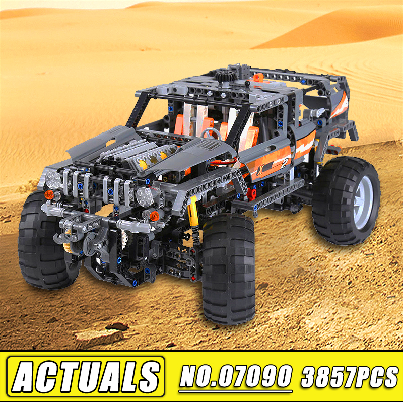Bei Fen 1132Pcs Lepin Technic 20030 MOC Series the Off-Roader Model Set 8297 Children Building Blocks Bricks DIY Toys Gift lepin 20030 1132pcs technik ultimate off roader cars legoingly 8297 sets building nano block bricks toys for boy gifts
