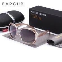 Женские градиентные солнцезащитные очки barcur винтажные поляризационные