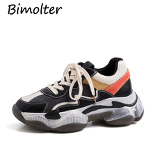 Bimolter Fashion Sexy Casual New Sneakers Flats Platforms Corss-tied Punk Party Dancing Shoes Woman Ladies NC057