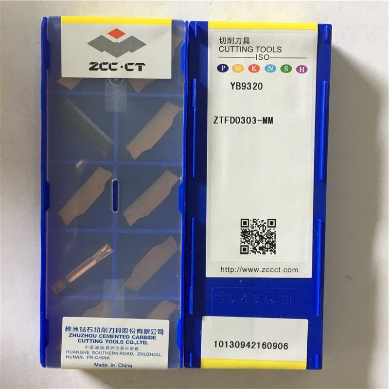 ZTFD0303 MM YB9320 original ZCC carbide insert milling insert 10pcs lot free shipping