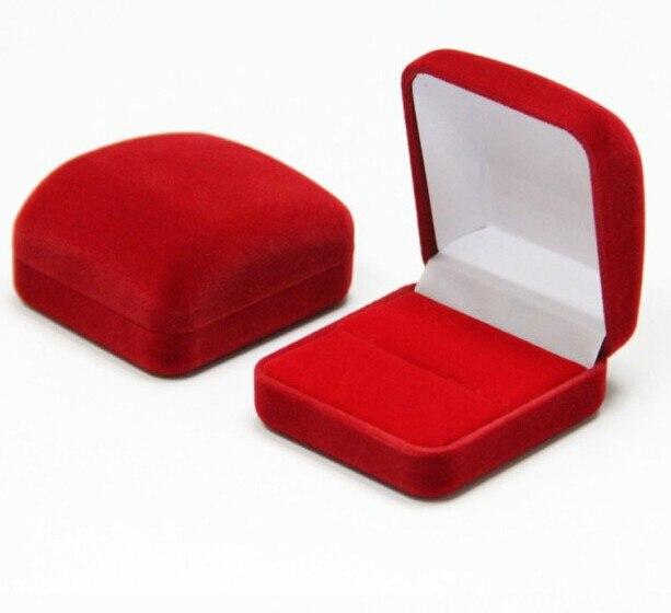 Joy Royal Blue Jewelry Packaging Ring Box Velvet Case For Wedding