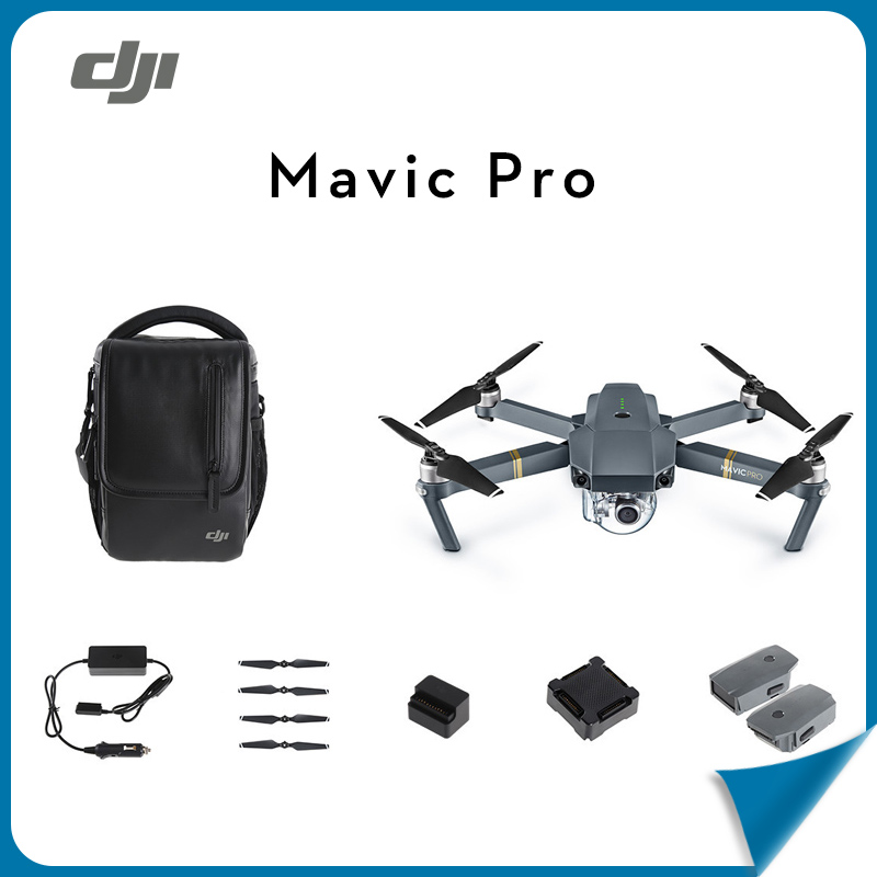 Pre-order! DJI Mavic Pro + Extra Battery with 4K X5  Camera Gimbal Original DJI Aerial Aircraft Drone RC helicopter