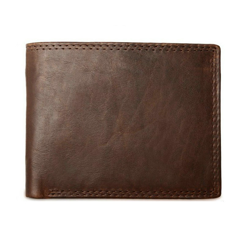 dark brown wallet