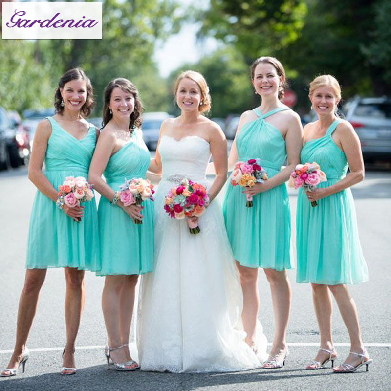 Popular beach mint buy cheap beach mint lots from china for Turquoise bridesmaid dresses for beach wedding