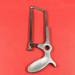 منشار العظام من الفولاذ المقاوم للصدأ 34 سنتيمتر أدوات جراحة العظام البيطرية
