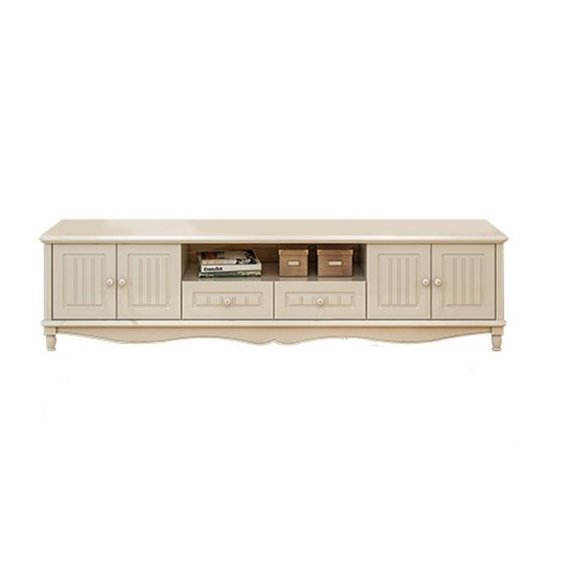 Bureau Sehpasi Lift Led Soporte De Pie Meubel European Wood Living Room Furniture Monitor Stand Meuble Table Tv Cabinet