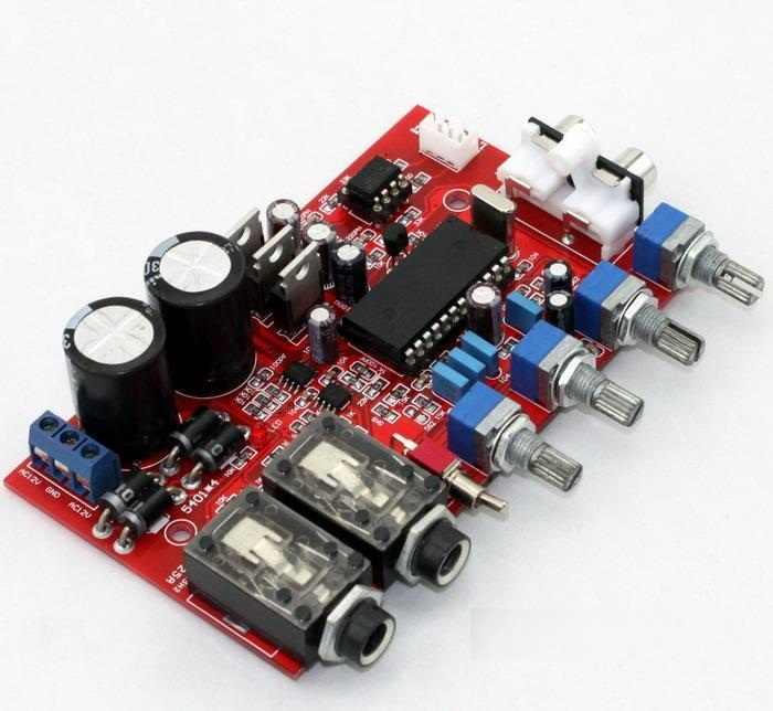 Assembled M65831AP + NE5532 preamp board with Karaoke fuction preamplifier  board NEW