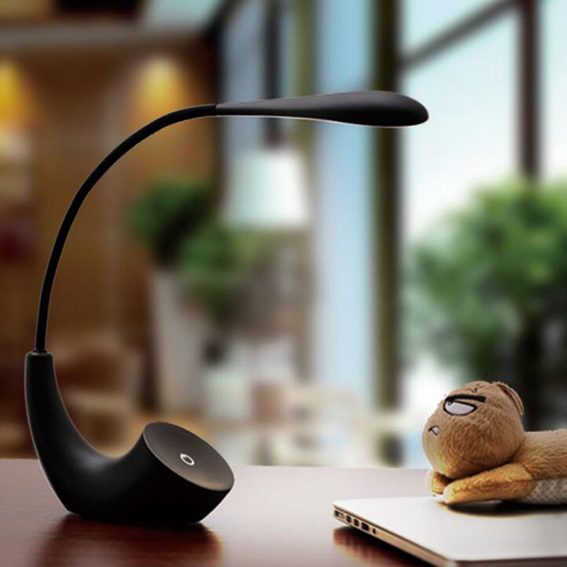 Творческий светодиодный складной настольная лампа Touch три затемнения исследование настольная книга ночник настольная лампа