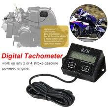 Тахометр двигателя цифровой тахометр индуктивный дисплей для