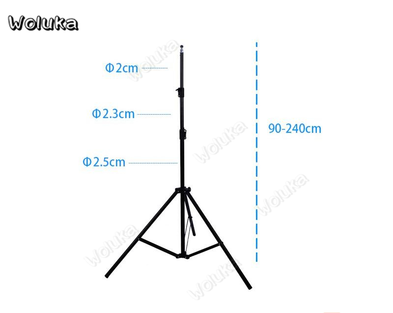 3m Height Professional Photography Metal Lighting Stand Spring Buffer Holder for Studio Flash Light Durable