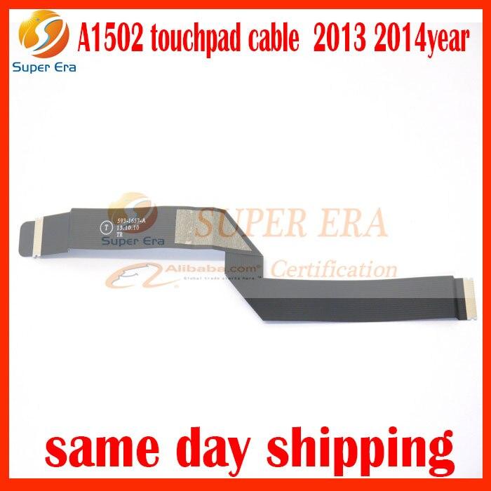 A1502 touchpad trackpad kabel flex untuk macbook pro 13 inch A1502 593-1657-A 2013 2014 tahun pengujian sempurna