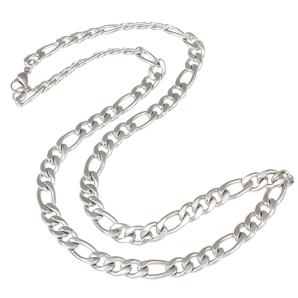 HTB1PyCMPVXXXXaCaXXXq6xXFXXX5 - 2017 Silver Color Rope Link Stainless Steel Necklace Womens Mens Chain Boys Girls Dropship Long Necklace Jewelry 21inch