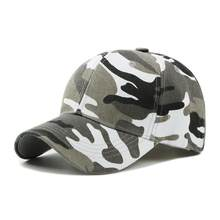 2019 Men Women Army Camouflage Camo Cap Casquette Hat Climbing Baseball Cap Hunting Fishing Desert Hat(China)