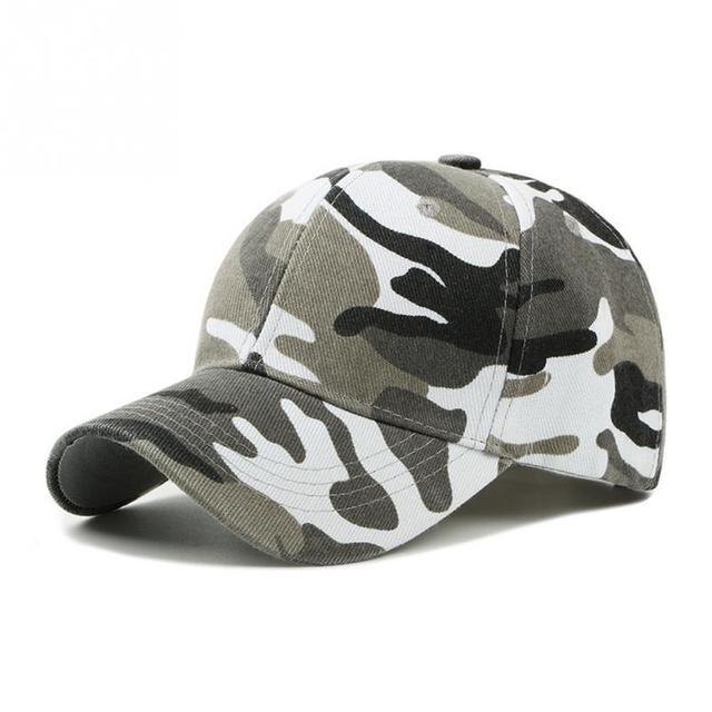 4cbfa1eb4 2019 Men Women Army Camouflage Camo Cap Casquette Hat Climbing Baseball Cap  Hunting Fishing Desert Hat