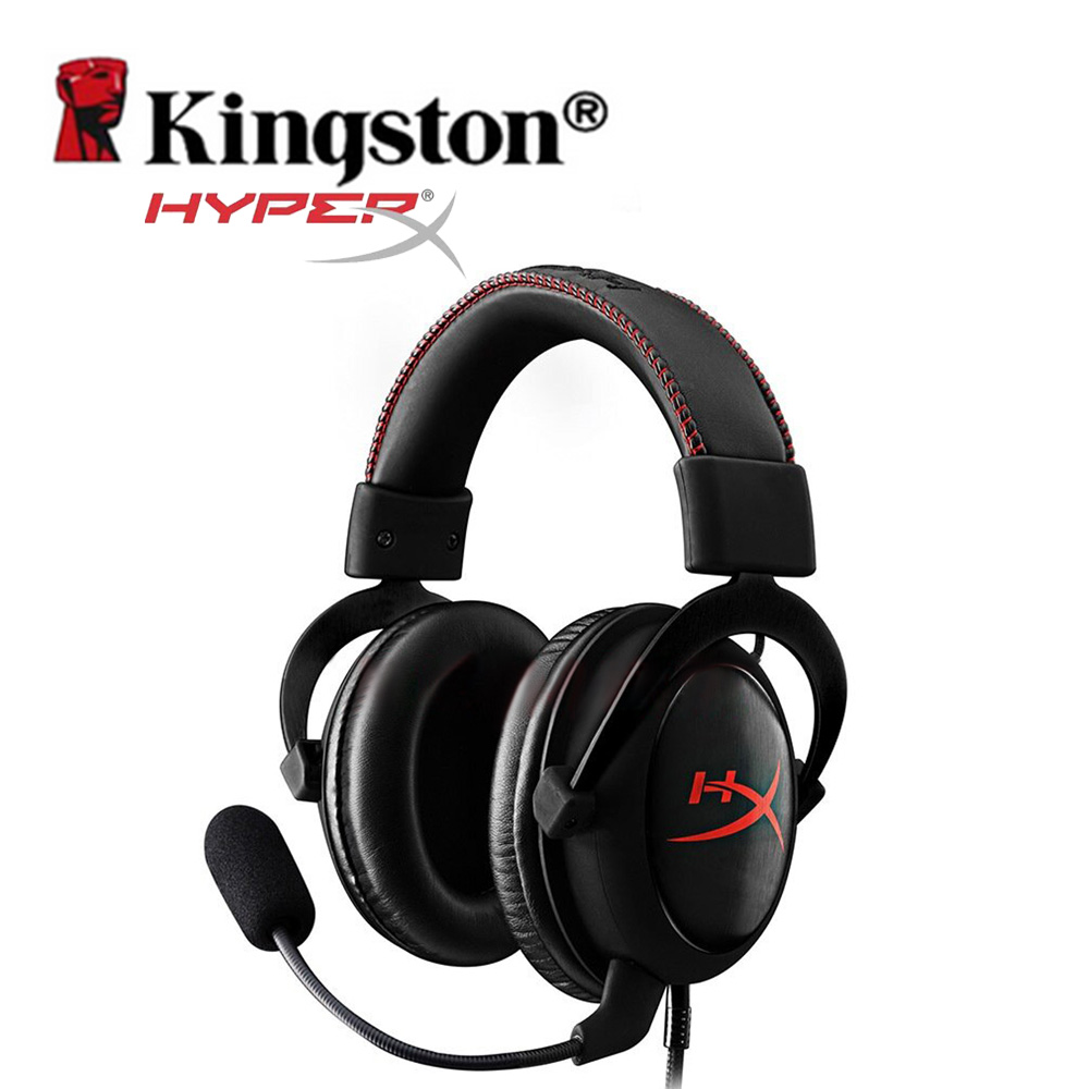 Kingston HyperX Gaming Headset Cloud Core Black Auriculares Gaming Hi Fi Headphones for PC Tablet Mobile