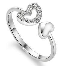 Оптовая продажа серебро 925 пробы романтическое любовное сердце