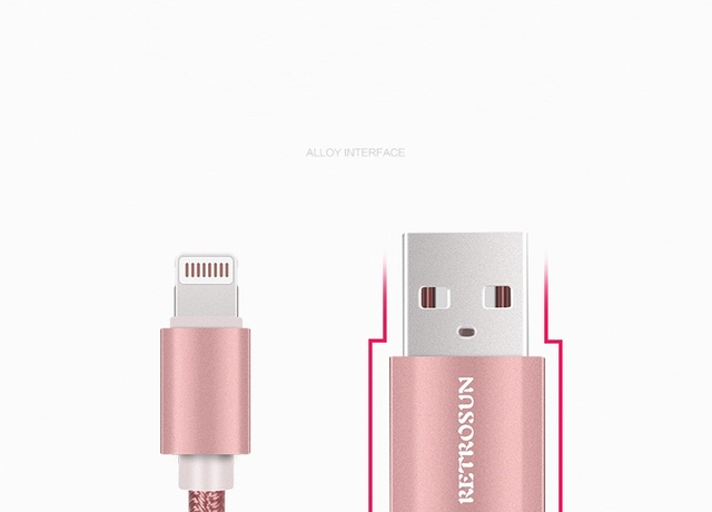 Lengthen data and charging cable for iphone 6, 6s, for iphone 5, 5s,5c, for ipad min, for ipad 4 etc colorful design