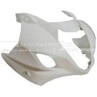 100% ٪ abs البلاستيك جبهة fairing رئيس لسوزوكي gsxr1000 2003 2004 gsxr 1000 k3 هدية الأنف قذائف جديدة