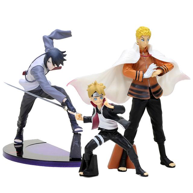 Naruto Boruto Sasuke Action Figure