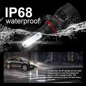Image 5 - roadsun Car Light Led H4 H7 H11 H1 9005 9006 HB3 HB4 LED Headlight Bulb With Lumileds ZES Chip 12V 6000K Bright Auto Spot Lamp