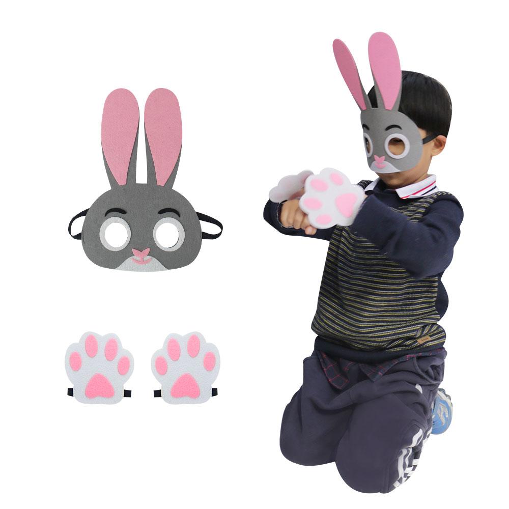 ΕΙΔΙΚΗ Παιδική Μάσκα Κουνελιού - Καρναβάλι κοστούμια