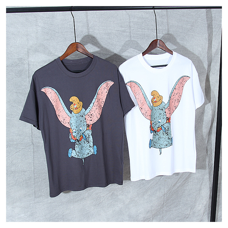 New 2019 summer Men women 39 s cotton T shirts Chic women 39 s cartoon pattern Tops Tee A341 in T Shirts from Women 39 s Clothing