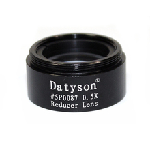 Promo offer Datyson 0.5x Focal Reducer Len for 1.25″ Telescope Eyepiece Astronomy Diagonal Extender Tube Camera Adapter