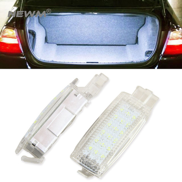 Error Free Led Interior Footwell Luggage Trunk Boot Glove Box Lamp