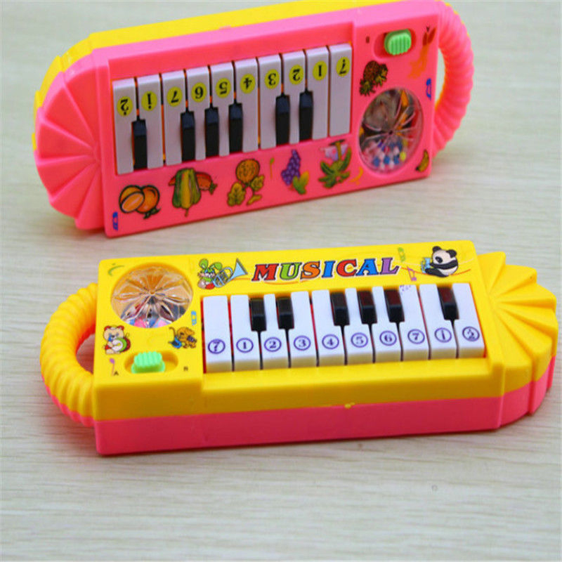 New Useful Popular 0-7 Years Old Baby Kid Piano Music Developmental Cute Toy