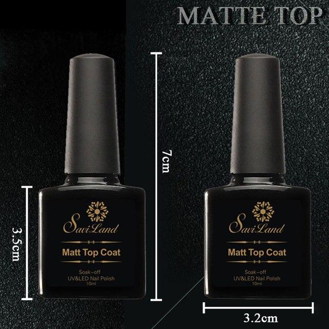 Saviland Matt Varnish Matte Top Coat