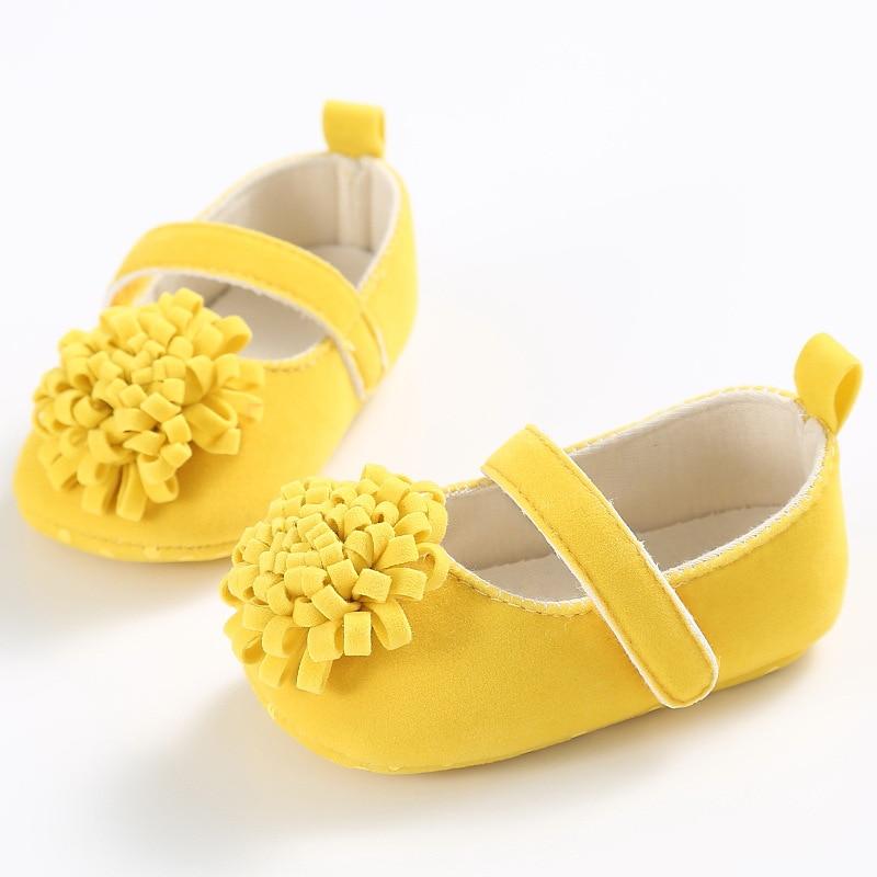 0-1 jaar oude lente en zomer herfst vrouwelijke baby schoenen zachte - Baby schoentjes - Foto 4