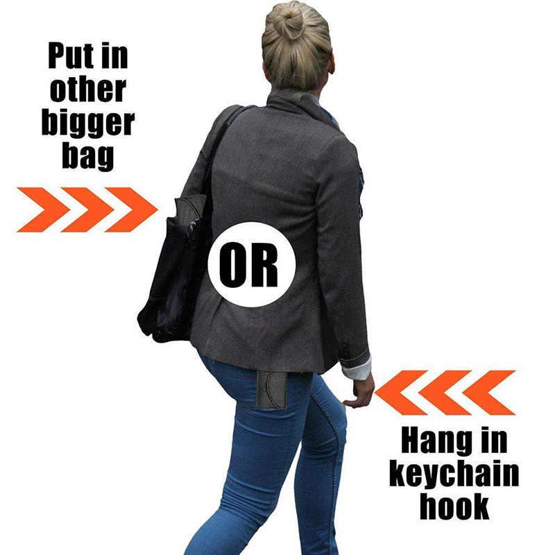 RFID чехол для блокировки сигнала телефона сумка для кредитных карт водонепроницаемый Оксфорд Автомобильный ключ кошельки липучка держатель карты обертывание портмоне