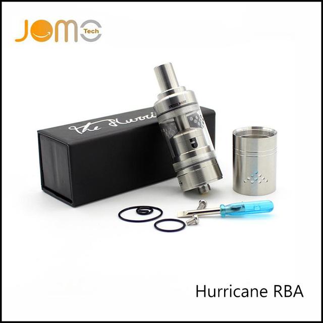4 ml enorme fluxo de ar ajustável atomizador rebuildable inoxidável 316 furacão rta tanque clearomizer para o estrangeiro smok mod vaping jomo-74