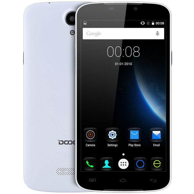 US $57 55  Original DOOGEE X6 5 5inch Android 5 1 Smartphone MTK MT6580  Quad Core Mobile Phone GSM/WCDMA Dual SIM Unlocked Cellphone-in Mobile  Phones