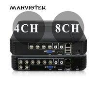 MARVIOTEK Mini DVR AHD 1080N 4CH 8CH CCTV DVR For CCTV Kit VGA HDMI Security System