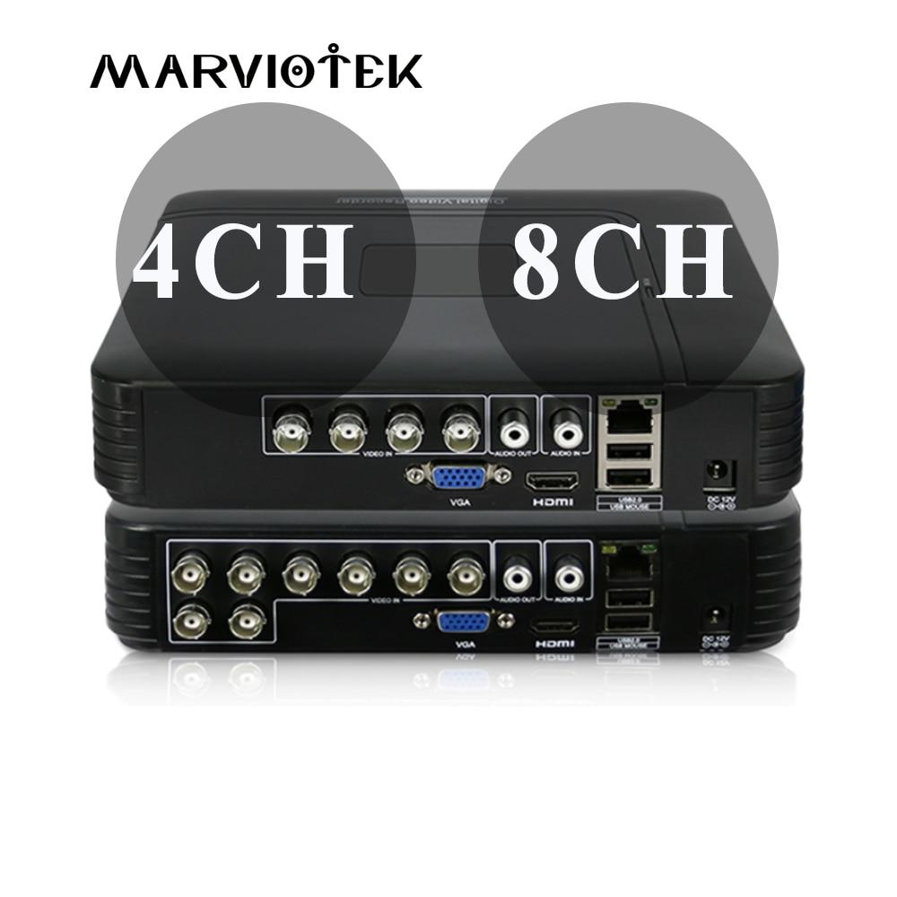 4CH Мини DVR AHD 1080N 960 P 12CH 16CH CCTV NVR видео регистраторы для комплект видеонаблюдения VGA HDMI системы безопасности для HD P 1080 P IP камера Onvif