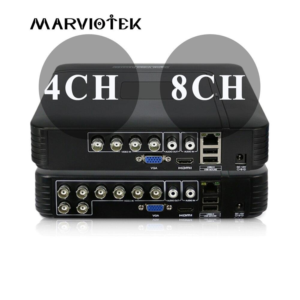 4CH Mini DVR AHD 1080N 960P 12CH 16CH CCTV NVR Video Recorder For CCTV Kit VGA HDMI Security System For HD 1080P IP Camera Onvif цена