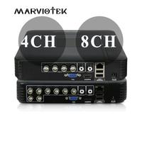 4CH Mini DVR AHD 1080N 960P 12CH 16CH CCTV NVR Video Recorder For CCTV Kit VGA HDMI Security System For HD 1080P IP Camera Onvif